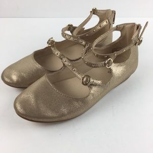 Stevie's Gold Shoes